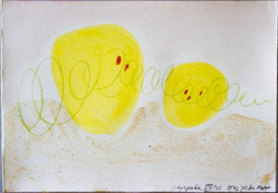 Satyagraha XIV: 26-teilige Serie,Gesteinsmehle, Kreide, Bleistift, Pigmente auf Papier,August 2012