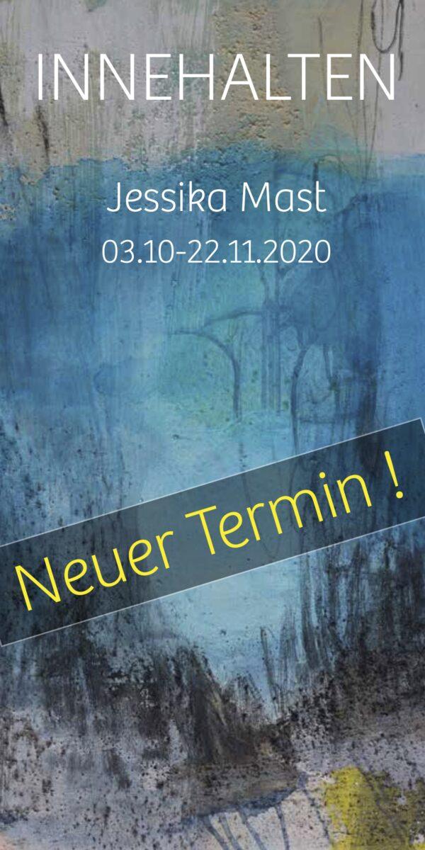 INNEHALTEN, Jessika Mast, Neuer Termin: 3.10.-22.11.2020, Kunshaus Freudenstadt, Hirschkopfstr. 4.